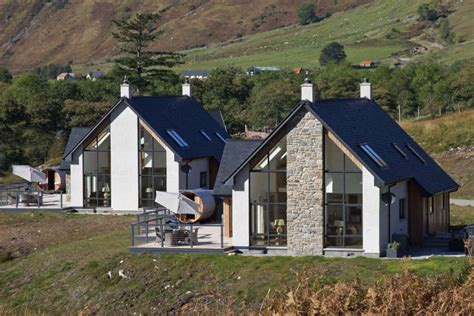 Luxury Cottage Scotland by Tub Sauna Outdoors Innis A Chro Cottages