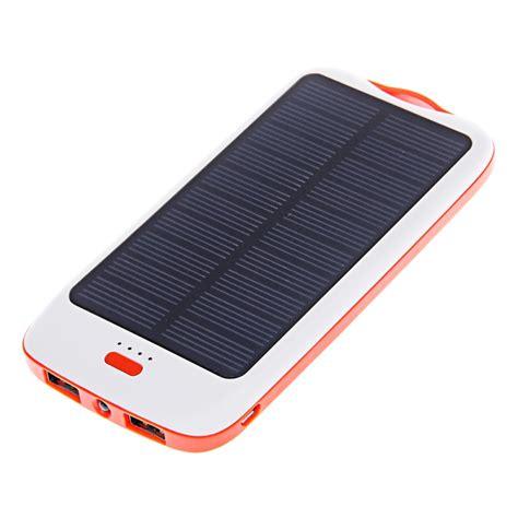dbk bank dbk s100 10000mah solar mobile battery charger power bank