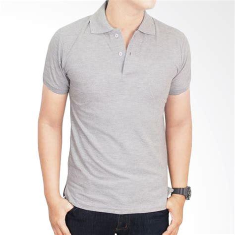 Zigzag Grey Kaos Pria Atasan Cowok jual gudang fashion kaos polos kerah pol 68 grey atasan pria harga kualitas terjamin