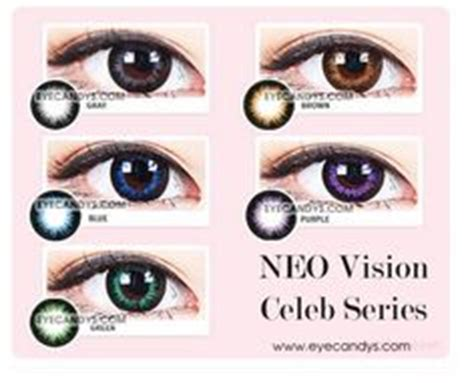 neo colored circle contacts combine the mysterious