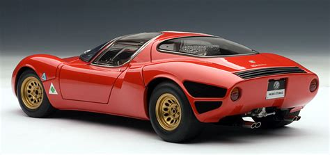 1967 alfa romeo 33 stradale prototype diecast model