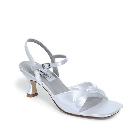 White Satin Bridal Shoes by Dyeable Bridal Shoes Wedding Handbags Dyeable Shoe Store
