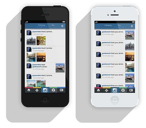 instagram layout alternative alternative design for instagram app on behance