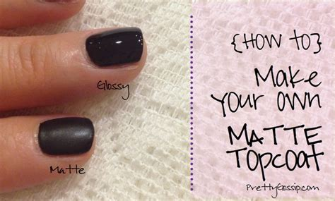 how to make any nail matte diy matte nailpolish topcoat home and diy