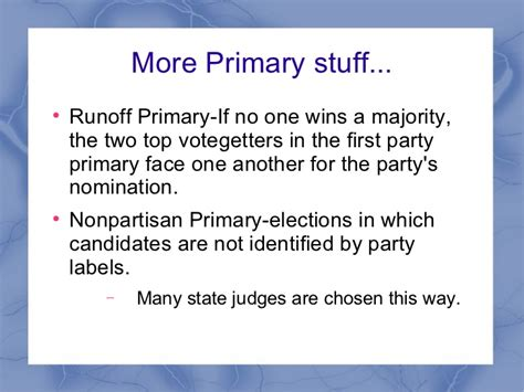 Chapter 13 Section 5 The Election by Chapter 7 Section 1