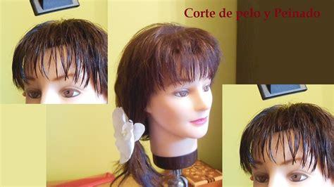 c mo cortar el pelo en casa como cortar el pelo en capas flequillo corte de flequillo
