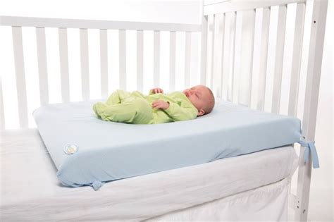 Top Baby Crib Mattress by Side View Of The Lifenest Sleep System Crib Mattress The