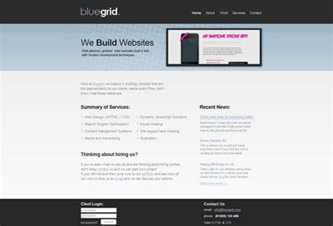 layout web clean design a clean web layout with the 960 grid tutorial9