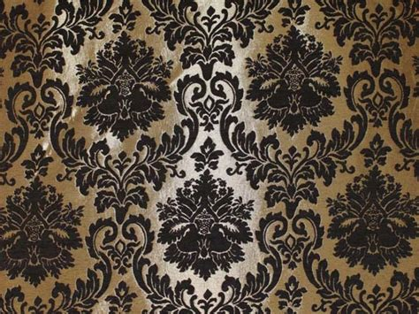 Damask Fabric For Upholstery by Gold Damask Chenille Upholstery Drapery Fabric