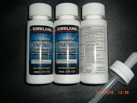 jual kirkland signature 5 minoxidil hair regrowth