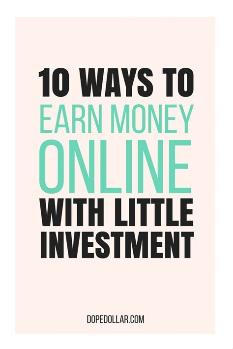 Best Way To Make Money Online Without Spending Money - 25 unique ways to earn money ideas on pinterest need money now how to earn money