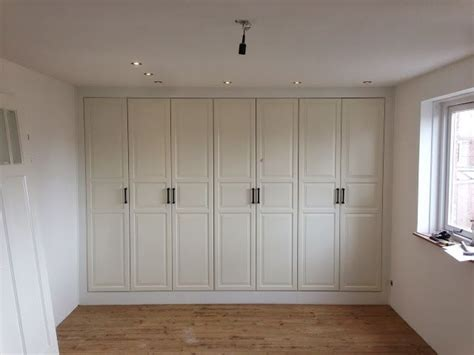 Built In Pax Wardrobe by Pax Built In For Sloping Ceiling The Hack I Ve Been
