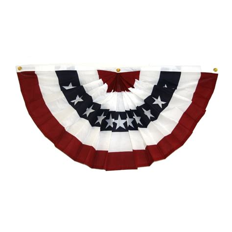 fans made in usa made in the usa 6 flag fan bunting