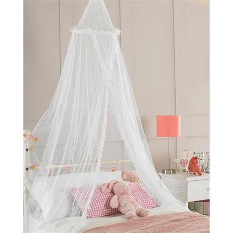 girls canopy bed childrens girls bed canopy mosquito fly netting new