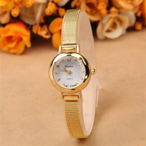 New Ladies Fashion Watches Women Watch Girls Royal Gold