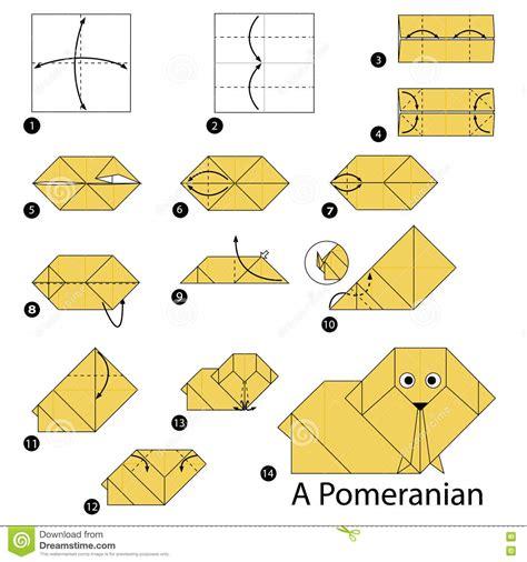 printable origami dog instructions origami make an origami dog bookworm bear origami dog
