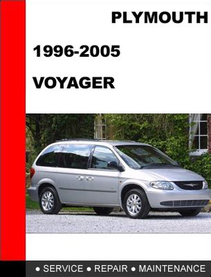 car service manuals pdf 1999 plymouth voyager parking system plymouth voyager 1996 2005 service repair manual download manuals