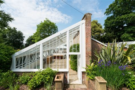 greenhouse side of house rescued from ruin a 19th century greenhouse becomes a modern english cottage