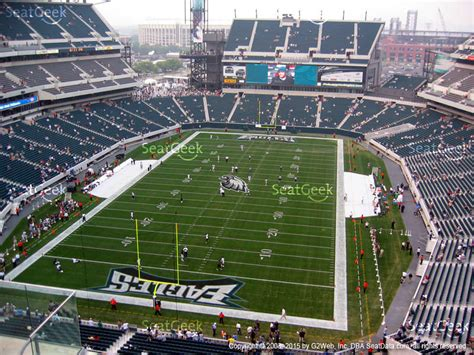 section 3c seating chart lincoln financial field philadelphia pa