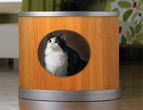 5 modern cat litter furniture designs you will love   My