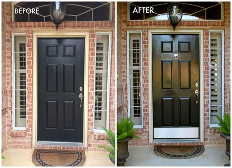 How To Paint Exterior Doors Diy How To Paint A Door Theydesign Net Theydesign Net