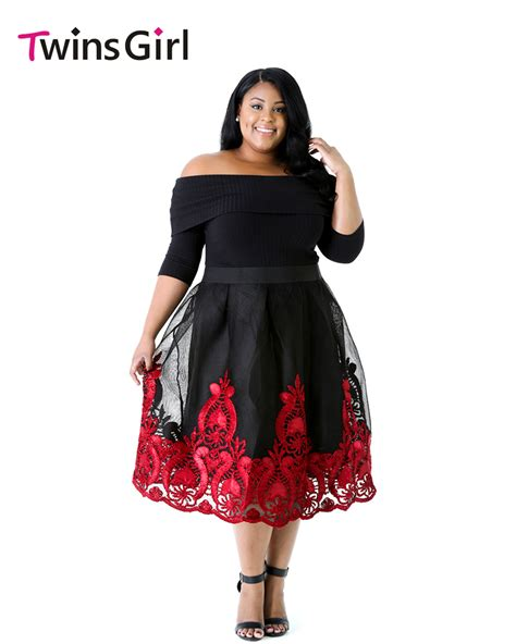 dress wanita big size aliexpress com buy fashion big girl 2017 party plus size
