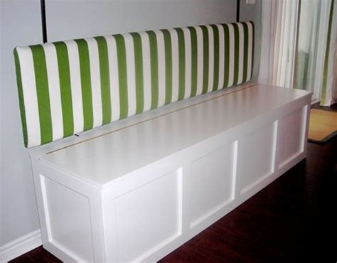 dining room benches with storage how to build a banquet storage bench c pinterest