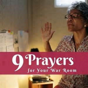 war room prayers relationships prayer for