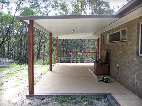 Steel Patios by Solarspan Attached Flyover Patio Stainless Steel Wire