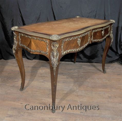 antique french writing desk french empire antique desk writing bureau plat 1860