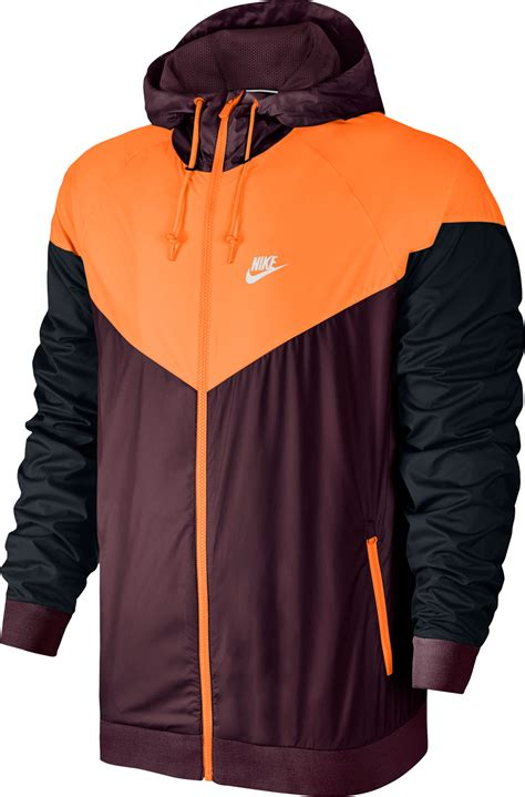 nike windbreaker nike windbreaker maroon orange black