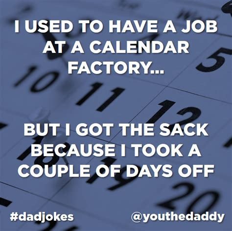 Calendar Jokes The Funniest Jokes In The World As Voted For By The