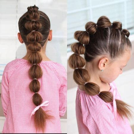 bubble hairstyle 20 cute braids for kids