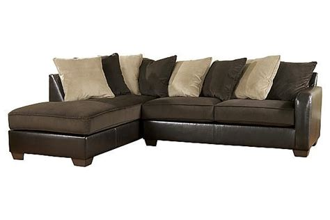 ashley furniture chocolate sectional the gemini chocolate sectional from ashley furniture