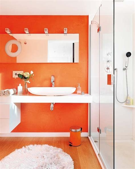 Orange Bathroom Decorating Ideas Best 25 Orange Bathroom Decor Ideas On