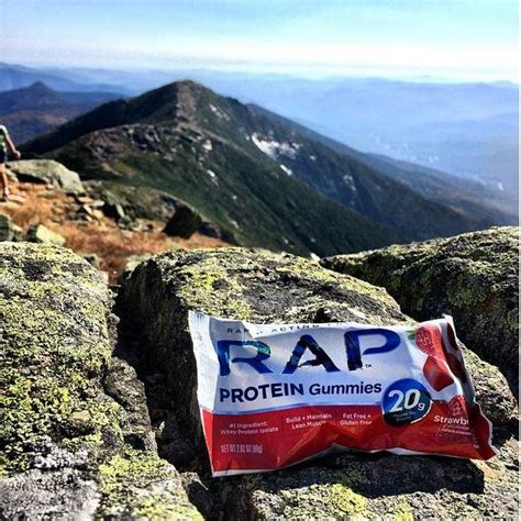 protein gummies rap protein gummies strawberry 2 58 ounce