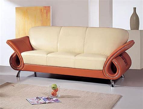 colored leather sofas contemporary dual colored or black leather sofa with