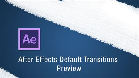 after effects free transition templates learn about the after effects transitions effects