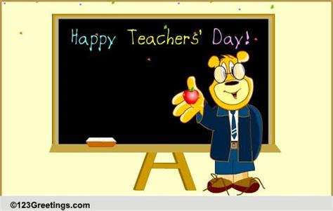 india teachers day teachers day india cards free teachers day india