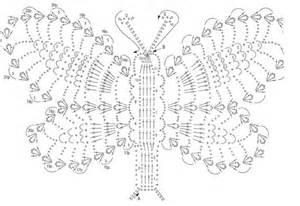 esquema de mariposas para polera crochet mariposa con ganchillo xl rinc 243 n de colores