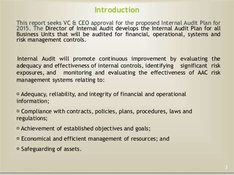 Adequacy Of Resources Report Template Audit Plan 2015