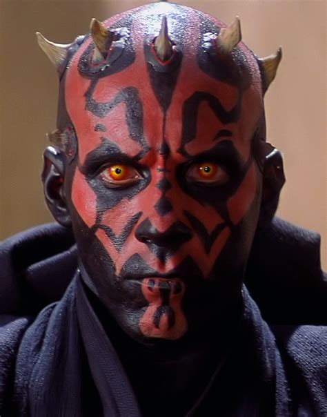 Starwars Darth Maul Darth Tyranus Profiles In Celluloid A