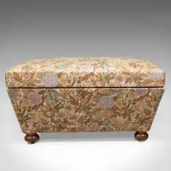 antique ottoman antique ottoman victorian upholstered chest c1870