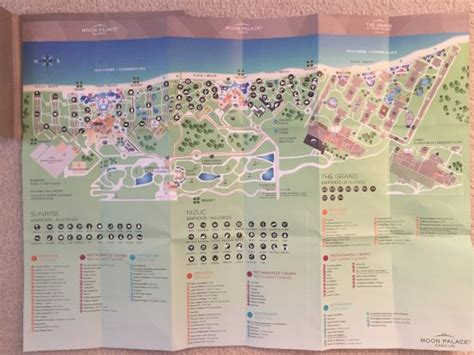 palace resort cancun map map of grand picture of moon palace cancun cancun