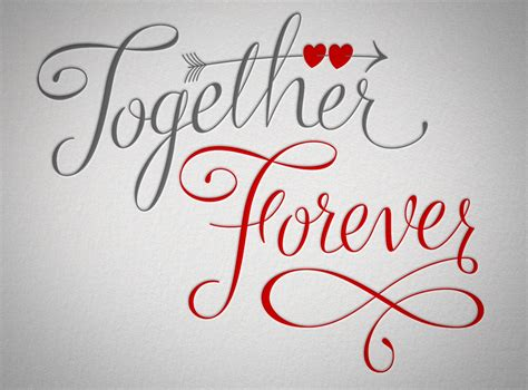 forever together happily after friends of type