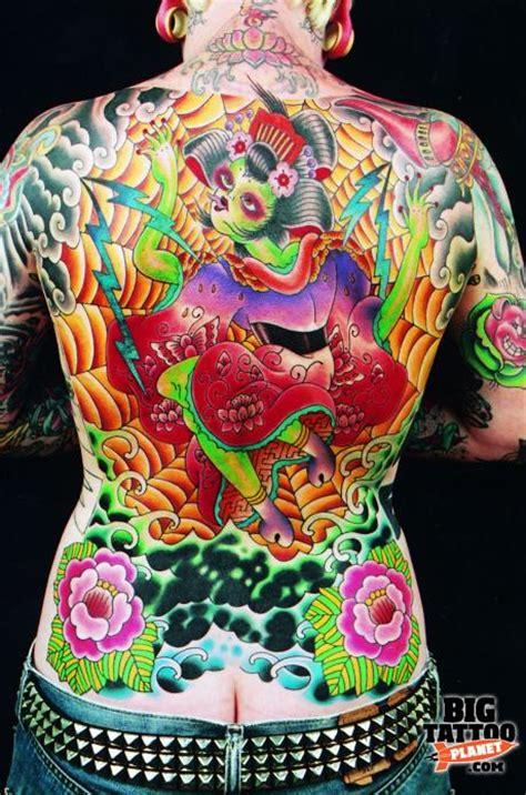 eccentric tattoo eccentric colour big planet