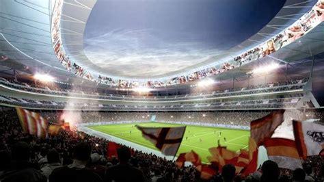 futura rome stadio della roma conhe 231 a os detalhes da futura casa da