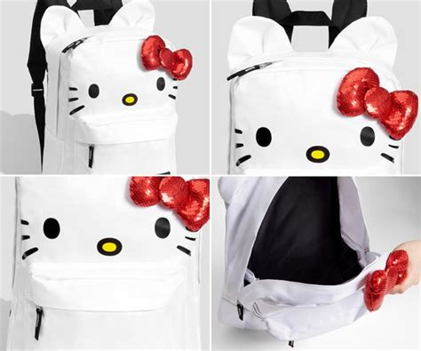 imagenes de hello kitty mochilas mochila de hello kitty ideas para regalar