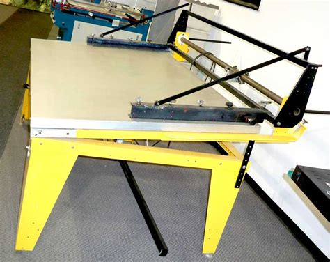 american masterprint one screen printing table