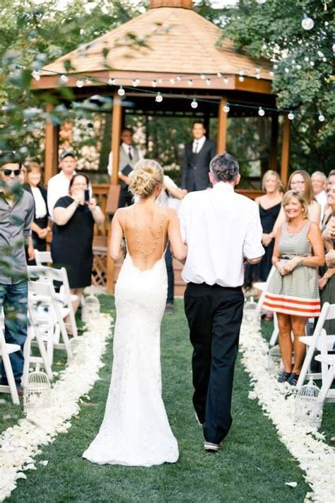 Wedding Walking The Aisle by Backless Wedding Dress Walking The Aisle This I
